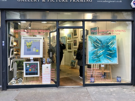 'Paintings for Spring' Private View a big success!